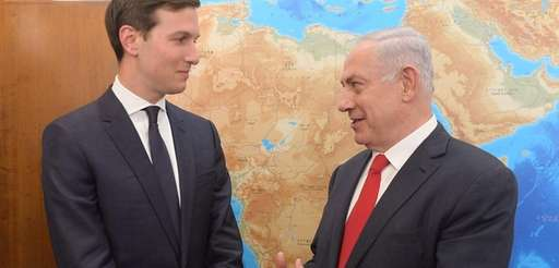 Presidential adviser Jared Kushner meets with Israeli Prime