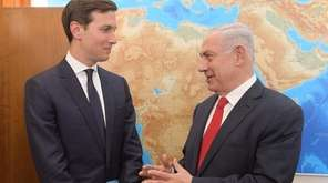 Presidential adviser Jared Kushner meets with Israeli Prime