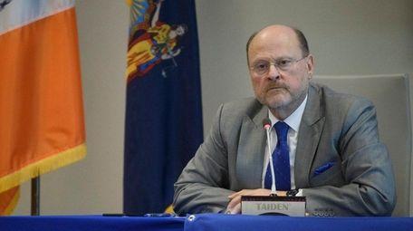 MTA Chairman Joseph Lhota has returned to run