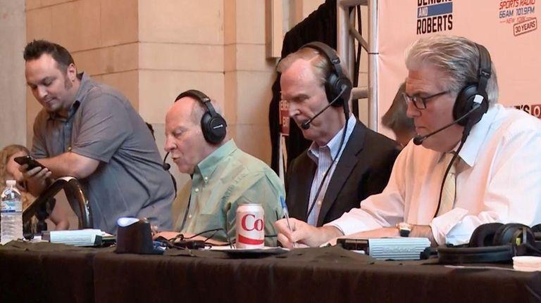 Boomer & Carton, Joe & Evan and Mike