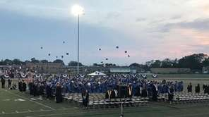 The graduation at Walter G. O'Connell Copiague High