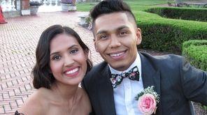 Students enjoy the Hampton Bays High School prom,