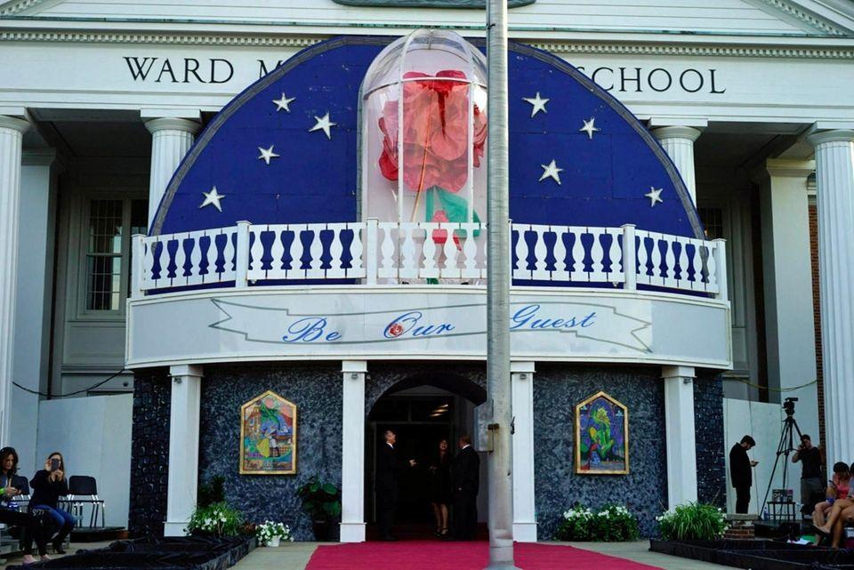 Ward Melville High School's prom on Thursday, June