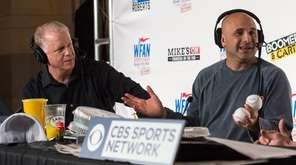 Boomer Esiason, left, and Craig Carton host their