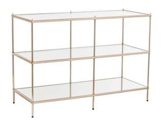 The Benton Console Table from Target adds sparkle