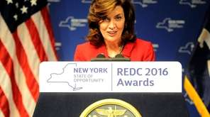 Lt. Gov Kathy Hochul shown Dec. 8, 2016.