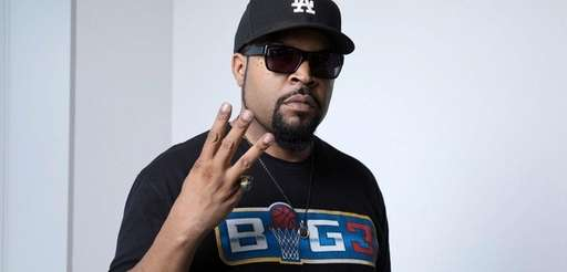 Ice Cube poses for a portrait in New