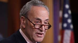 Sen. Chuck Schumer promised to fight Senate Republican's