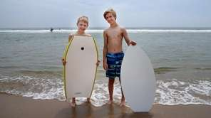 Ryan, 10, and Jack Sarsen, 13, of Darien