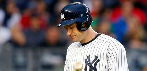 Chase Headley strikes out in the second inning
