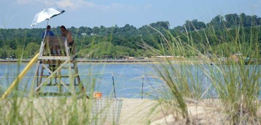 Tappen Beach in Glenwood Landing is seen in