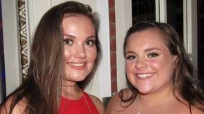 Best friends Erin Murphy, left, and Brianna Wilds
