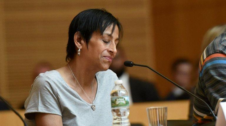Evelyn Rodriquez, mother of victim Kayla Cuevas, becomes