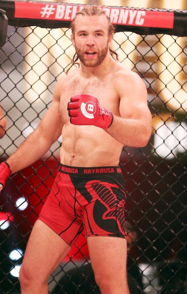 Hugh McKenna defeated John Salgado in their 168-pound