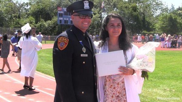 Suffolk County PoliceOfficer Matthew DeMatteo watchedSaturday, June 24,