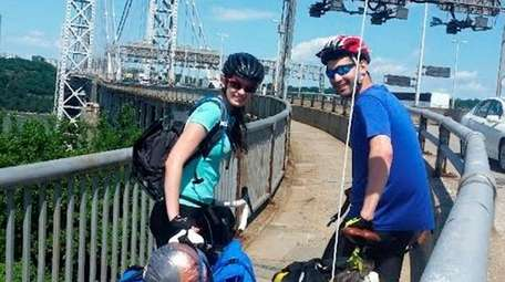 Sarah O'Connor, 22, of Malverne, and Joey Karp,