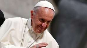 Pope Francis during the opening of the Diocesan