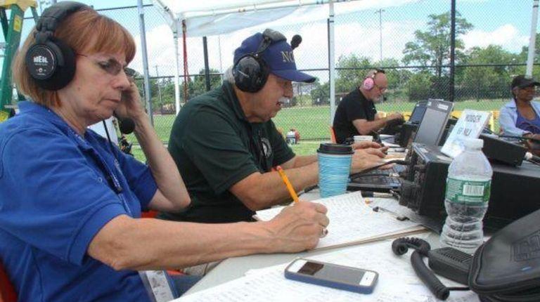 Amateur radio operators on Long Island spent 24