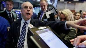 New York Stock Exchange floor governor Nicholas Brigandi,