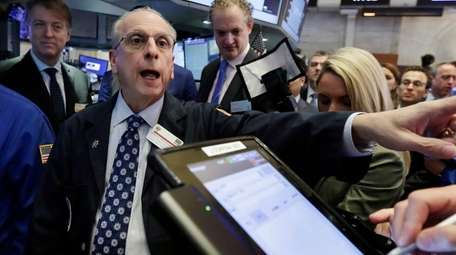 New York Stock Exchange floor governor Nicholas Brigandi,