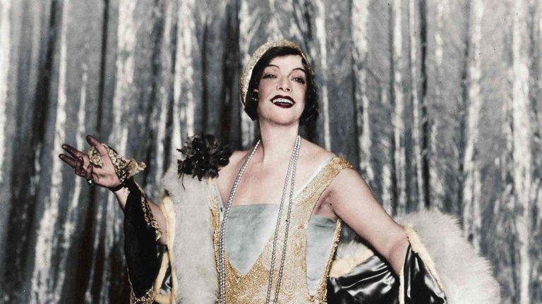 Flamboyant actress