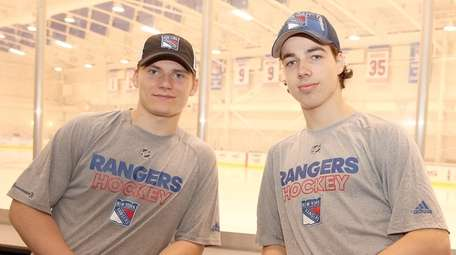 The New York Rangers' two first round selections