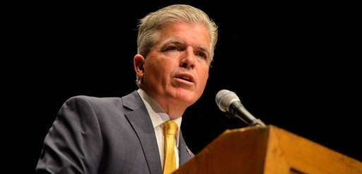 Suffolk County Executive Steve Bellone at Suffolk County