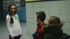 Kidsday reporter Emma Shanahan is a peer leader