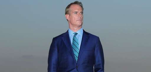 Fox Sports announcer Joe Buck after the final round
