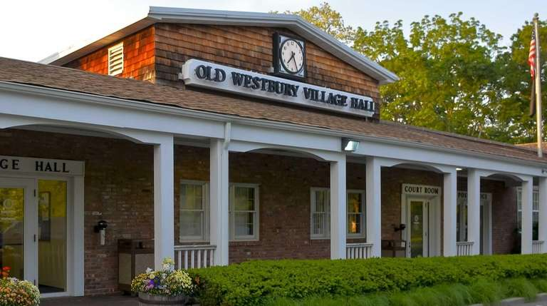Old Westbury Village Hall in the Town of