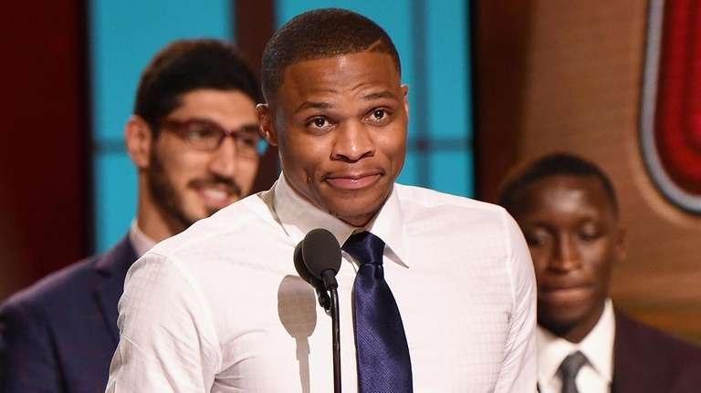 2016-17 NBA Most Valuable Player Russell Westbrook speaks