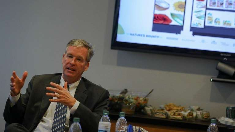 Steve Cahillane, president and chief executive of Nature's