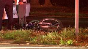 Suffolk County police investigate a crash that seriously