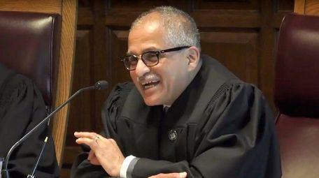 Judge Rowan Wilson, seen on June 1, 2017.