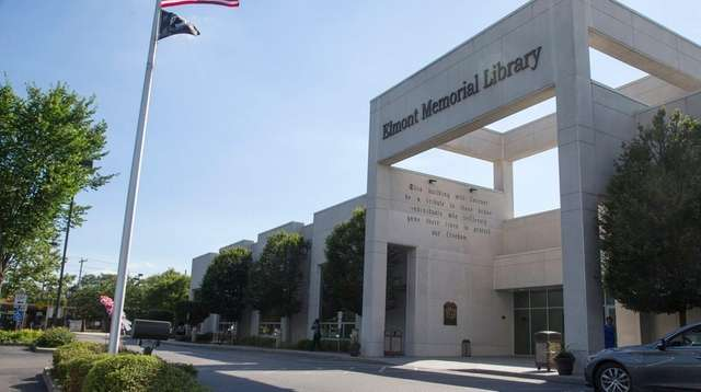 Elmont Memorial Library includes a 430-seat theater, June