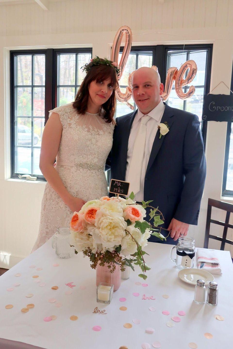 Jennifer and Kevin Graney, married April 23, 2017.
