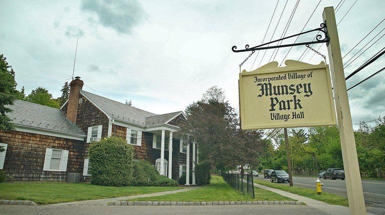 Munsey Park Village Hall on May 11, 2017.