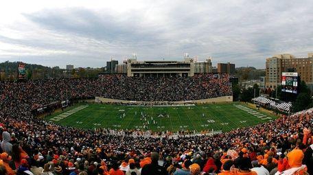 A general view of Vanderbilt Stadium during the