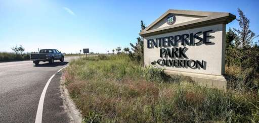 The entrance to the Town of Riverhead's Enterprise