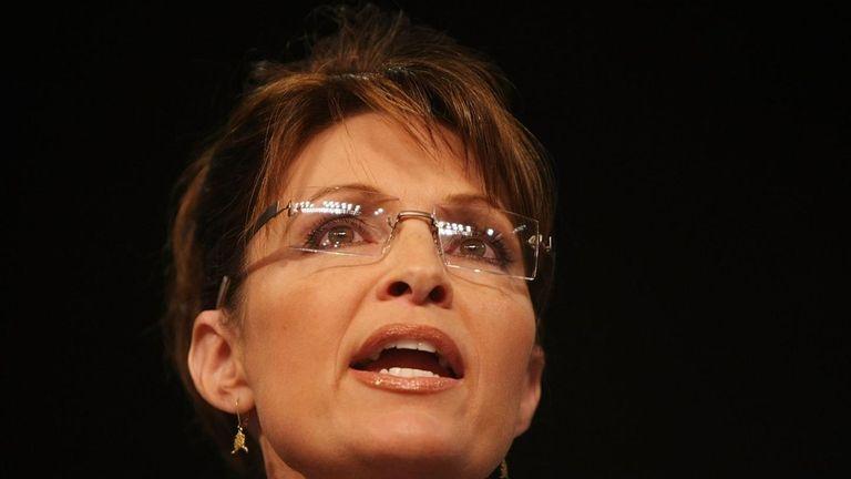 Sarah Palin on Aug. 29, 2008