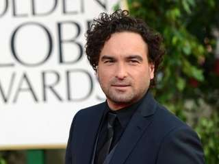 A spokeswoman for Johnny Galecki, says his home