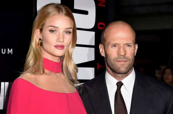 Rosie Huntington-Whiteley and Jason Statham at the