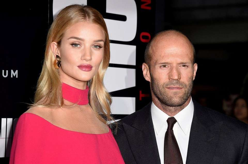 Parents: Rosie Huntington-Whiteley and Jason Statham Child: Jack