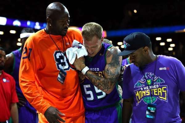 Jason Williams #55 of the 3 Headed Monsters