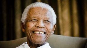 Former South African President Nelson Mandela on June