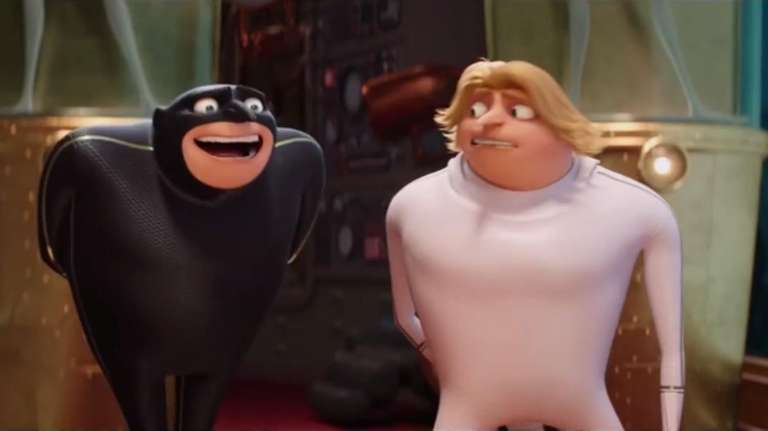 Steve Carell returns as the voice of villain-turned-dad