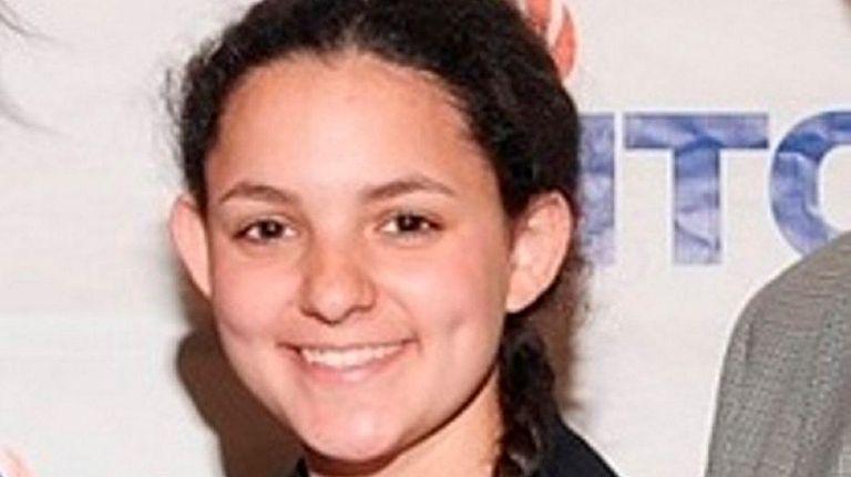 Sophie Riegel, student at George W. Hewlett High