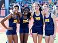 West Babylon girls 4 x 400 relay team,