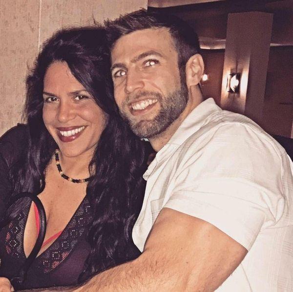 Jennifer Contini, 45, of Southampton, and her fiance,