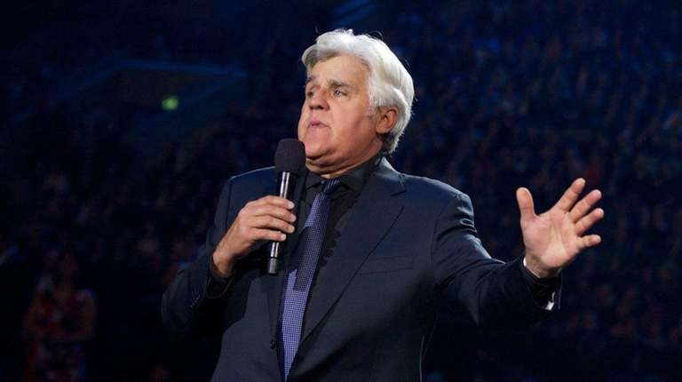 Jay Leno comes to Guild Hall for a
